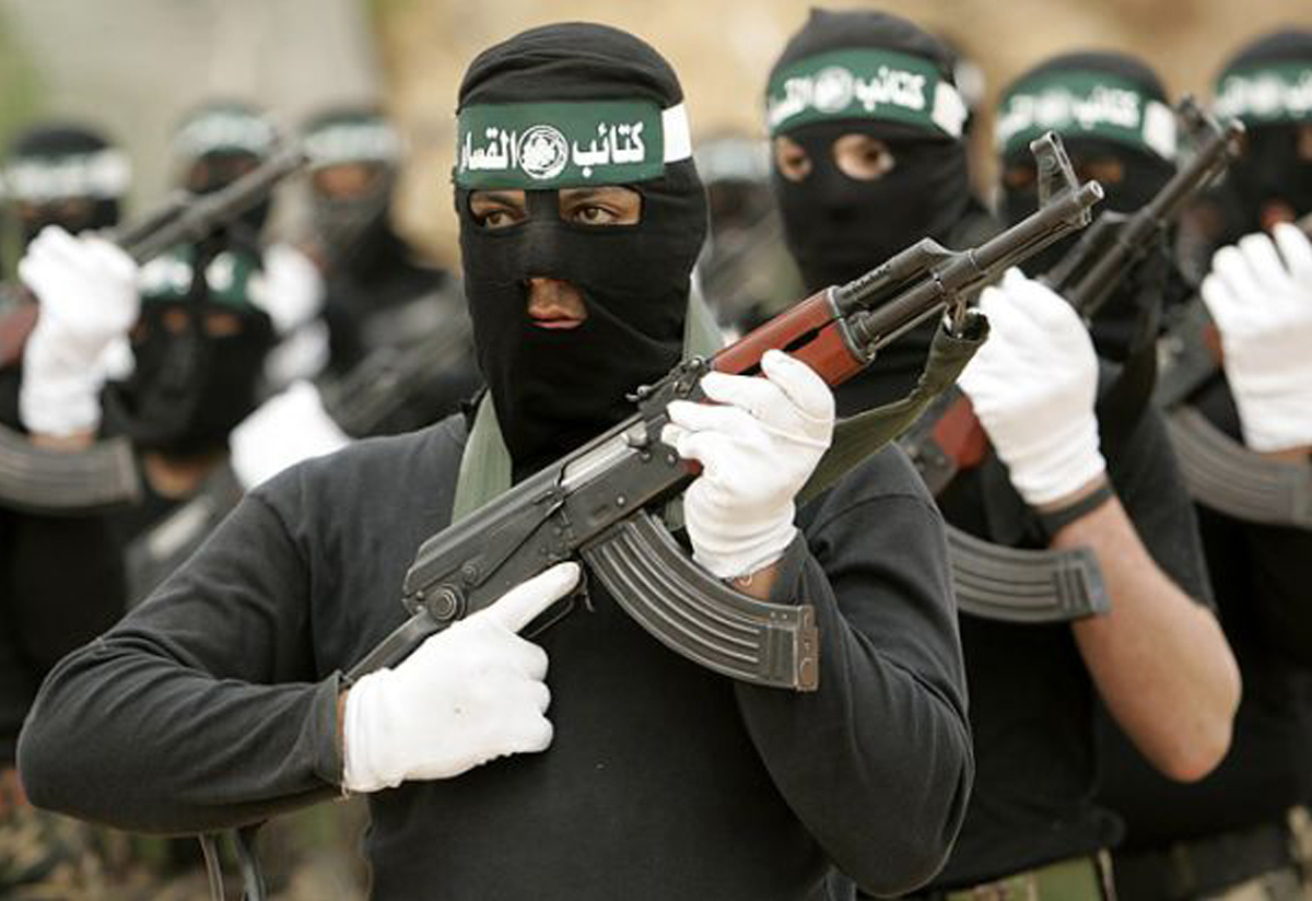 hamas soldiers